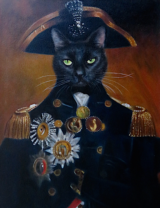 Lord-Nelson-Cat-Painting